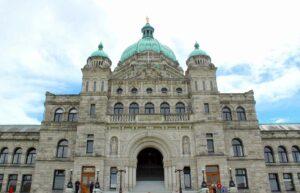 Parliament Buildings Victoria BC Canada